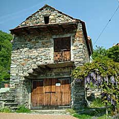 Ferienhaus Gudo (Rustico), Magadino-Ebene, Tessin, 2 Zi ...